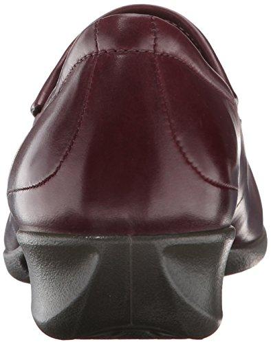Ecco Abelone Soft Butter Shiny 213613 Damen Slipper 1070 Bordeaux