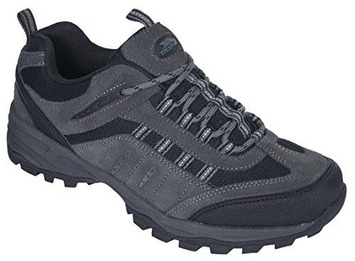 Trespass Archie, Scarpe da atletica leggera uomo Grigio (Grey (Granite))