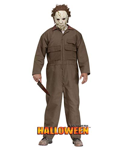 Horror-Shop Michael Myers Halloween Kostüm mit Vollmaske One Size