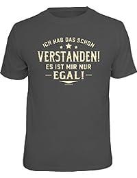 Original RAHMENLOS® T-Shirt: Ich hab das schon verstanden, es ist mir nur egal!