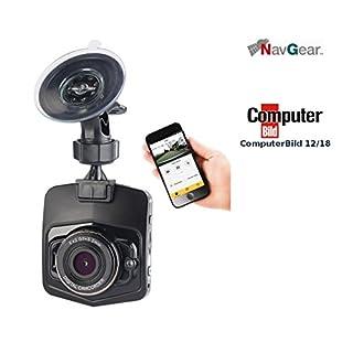NavGear Dashcam 4K GPS: 4K-UHD-Dashcam mit G-Sensor, WLAN, Bewegungserkennung, 170°-Weitwinkel (Dashcams mit G Sensoren Ultra HD)