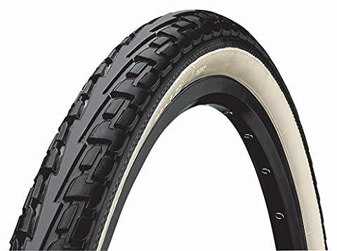 Continental Uni Ridetour Reifen, Schwarz/Weiß, 37-622