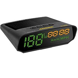 AUTOOL Solar GPS Tachometer Geschwindigkeitsmesser MPH / KMH