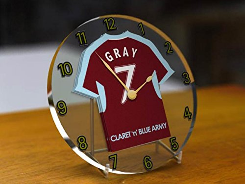 premier-league-football-shirt-acrylic-desktop-clocks-any-name-any-number-any-team-burnley-fc