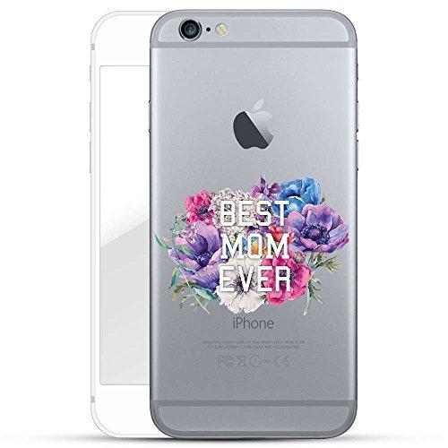 Finoo TPU Handyhülle für dein Iphone 6 Plus/6S Plus Made In Germany Hülle mit Motiv und Optimalen Schutz Silikon Tasche Case Cover Schutzhülle für Dein Iphone 6 Plus/6S Plus-Best Mom Ever