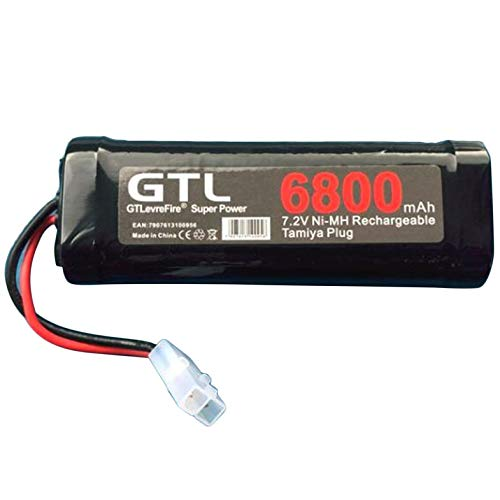 ouying1418 6800mAh 7.2V NiMh Battery Rechargeable Battery for RC Helicopter Boat Car
