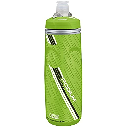 Camelbak Podium Chill - Botella de agua, 620 ml, color verde