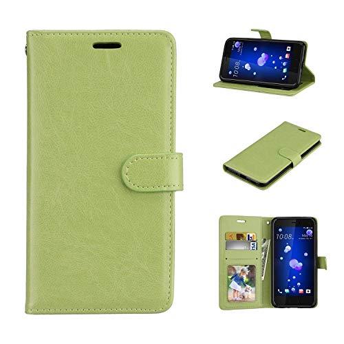 Für Lenovo Vibe S1 Hülle, Geschäft Leder Wallet Schutzhülle Case Cover für Lenovo Vibe S1 [Grün]