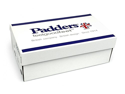 Padders Damen Ledersandalen 'Shore' | Super Breit EEEE Passmaß | 35mm Ferse Pebble / Bamboo Nb