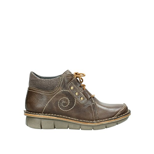 Wolky schnuerschuhe 8384Gallo 515 taupe oiled leather