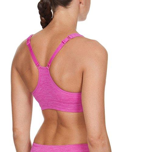 Arena soutien-gorge de sport pour femme haute performance-gorge sans couture Rose - Rose_Violet