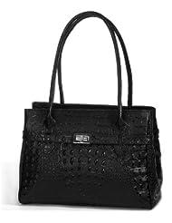 IO.IO.MIO Borsetta per le Icone® , Sac à main pour femme Noir Noir 26x18x11,5 cm