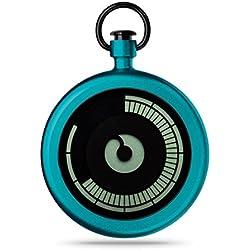 ZIIIRO Pocket Watch - Titan - Azure