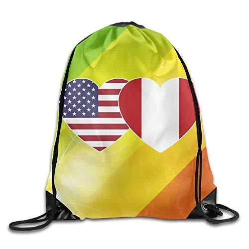 HLKPE Fashion Drawstring Gym Softball Baseball Print Drawstring Backpack Rucksack Shoulder Bags Gym Bag Sport Bag