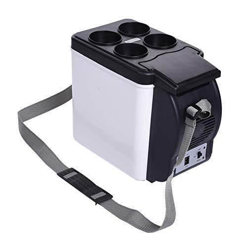 Frigoríficos mini, Nevera eléctrica portátil, frigorífico para coche 6 litros para automóviles,...