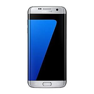 Samsung Galaxy S7 Edge Smartphone débloqué 4G+ (Ecran: 5,5 pouces - 32 Go - Nano-SIM - Android Marshmallow 6.0) Argent