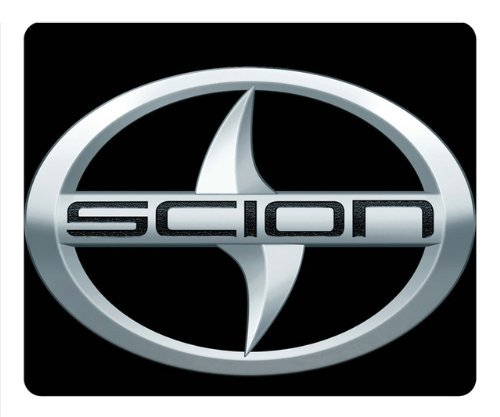 scion-car-logo-on-black-rectangle-mouse-pad-by-eemuse