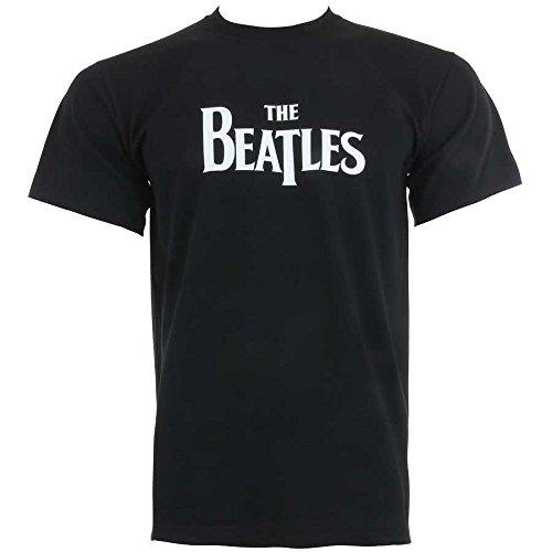 The Beatles Logo Men's T-Shirt (XXL)