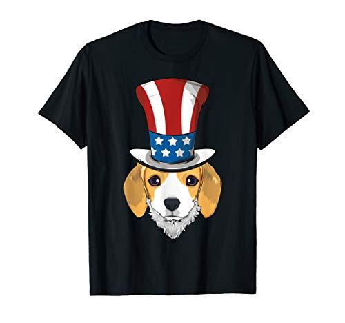 Uncle Sam BART - Beagle Uncle Sam Hut Lincoln Bart