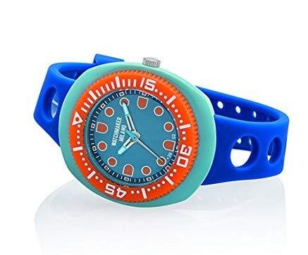 Watchmaker Milano Sub Orologio Uomo da Polso Submariner Vintage a Quarzo Anni 70 (Nero)