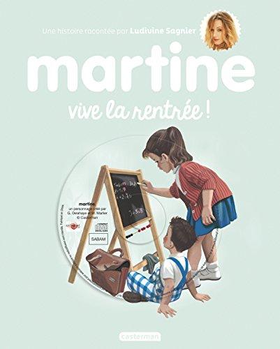 Martine : Vive la rentrée ! (1CD audio)