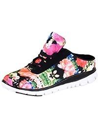 HSM Zapatillas Para Deportes de Interior de Malla Para Mujer, Color Turquesa, Talla 40