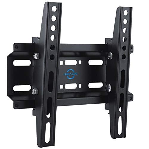 """deleyCON Universal TV Monitor Wandhalterung 23""""-42"""" Zoll (58-107cm) Neigbar - 35Kg - bis VESA 200x200 - LCD LED OLED TFT Fernseher Halterung Halter"""
