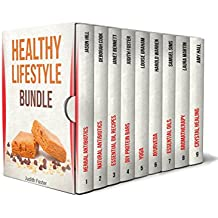 Healthy Lifestyle Bundle: The Best Guides on Aromatherapy, Herbal Antibiotics, Crystal Healing and Ayurveda (essential oils, herbal antibiotics, aromatheraphy) (English Edition)