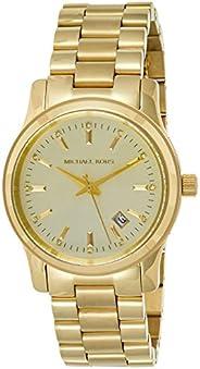 Michael Kors Women's MK5128 - Runway Chronograph Shiny Rose Gold/Light Rose Gold W