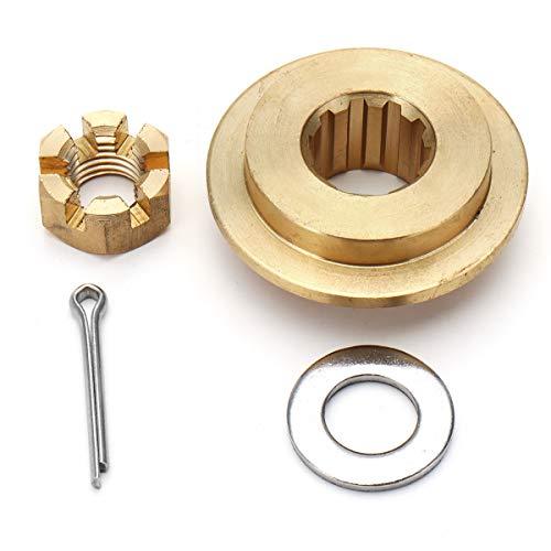 Forspero 25-30PS Propeller Hardware Kits Thrust Washer/Nut/Cotton Pin für Tohatsu Mercury -