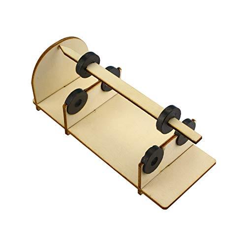 juler STEM DIY Spielzeug wissenschaftliches Experiment DIY Technologie Gizmo Magnetstift Magnet Federung Technologie kleine Produktion,Weiß,Einheitsgröße -