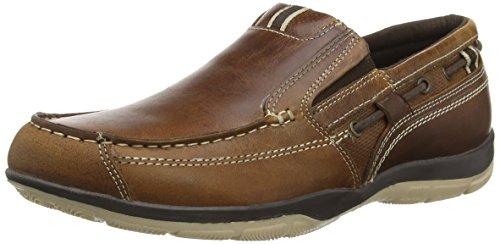 Red Tape  Dervock, Chaussures bateau homme Marron - Marron (clair)