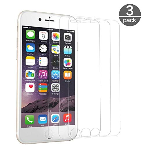 PhoneCare [3 Stück Panzerglas Schutzfolie für iPhone 6/iPhone7/iPhone8 3D Touch Kompatibel Displayschutzfolie Anti-Kratzer Screen Protector (4.7 Zoll)