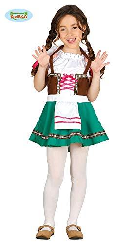 Guirca Kostüm Bimba Tiroler 10/12 Jahre, Mehrfarbig, 10-12, FG85854
