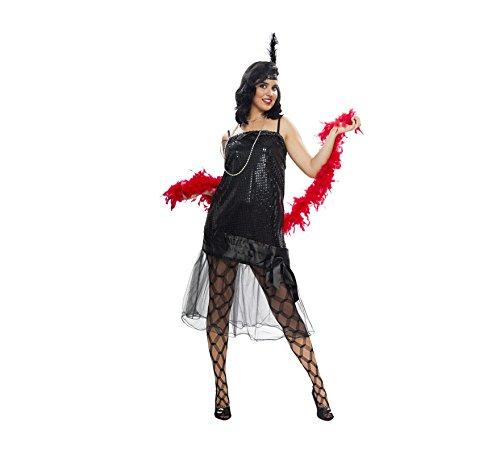 Imagen de disfraz barato de cabaret en varias tallas para mujer