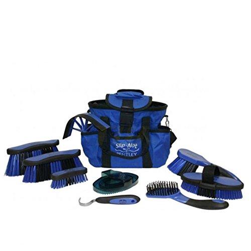 bentley-slip-not-deluxe-equestrian-microban-antibacterial-10-piece-grooming-set-blue