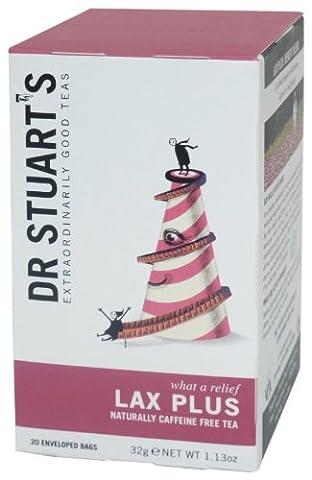 Dr Stuarts Lax Plus 20 Teabags (6 Pack)