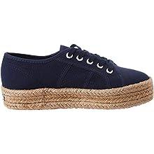 Superga 2730-cotropew, Chaussures de Gymnastique Femme, Bleu (Navy 933), 36 EU