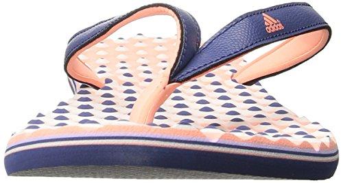 Adidas Performance Eezay Dots W Athletic sandalo, grigio / bianco / svasata, 5 M Us Purple/Peach