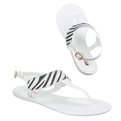 Ital-Design - Sneaker Donna Bianco (bianco)
