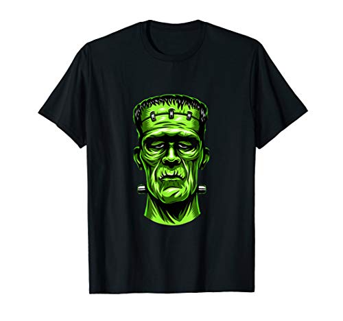 Klassisches Monster Shirt wütend Frankenstein Halloween T-Shirt