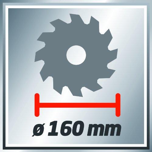 Einhell Handkreissäge TC-CS 1200 (1230 W, max. 55 mm, Sägeblatt Ø 160 mm, 24 Zähne, Parellanschlag) - 11