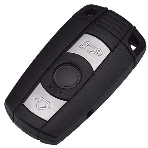 1xSt. Ersatz Schlüsselgehäuse mit 3 Tasten Klappschlüssel Auto Schlüssel Chiavi Schlüssel Rohling HU92 Fernbedienung Funkschlüssel Gehäuse (Version A geschlossenes Gehäuse)