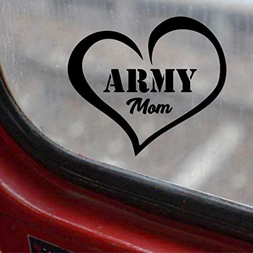 Adesivi per auto cuore creativo esercito, per auto fai da te styling prodotti auto divertenti, per adesivo per vinile per casco per auto e moto, decalcomanie per vetri auto