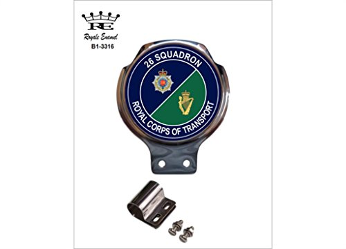 Scooter Bars 26 (Royale Emaille Royale Auto Scooter Bar Badge – 26 Squadron Royal Corps of Transport B1. 3316)