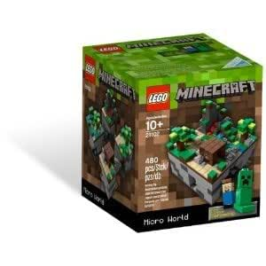 LEGO Minecraft 21102 - Fantastic Structures And Essential Creative Play Building With Virtual Cubes Jouets, Jeux, Enfant, Peu, Nourrisson