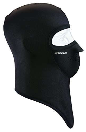 Seirus Innovation Dynamax Combo Weathershield Gesichtsmaske, für Nacken und Gesichtsschutz, Unisex Unisex-Erwachsene, Dynamax Combo Clava, schwarz, Small/Medium -