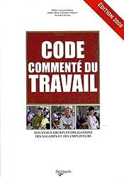 Code commenté du travail