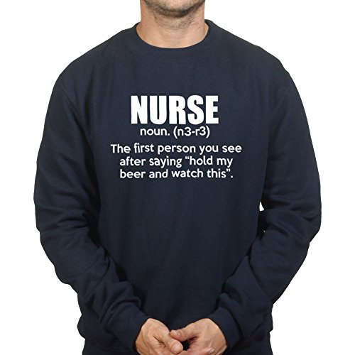 Nurse Definition Scrubs Funny (Krankenschwester Scrubs Kostüm)