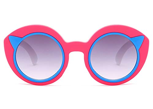 Aeici Sonnenbrillen Frauen Vogue PC + Resin Katzenohren Formen Sonnenbrillen Stil-C5 Sonnenbrillen